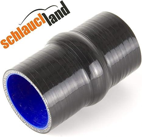 Hump Silikonschlauch Id 25mm Blau Gummischlauch Flexibel Verbinder Wulst Rohr Auto