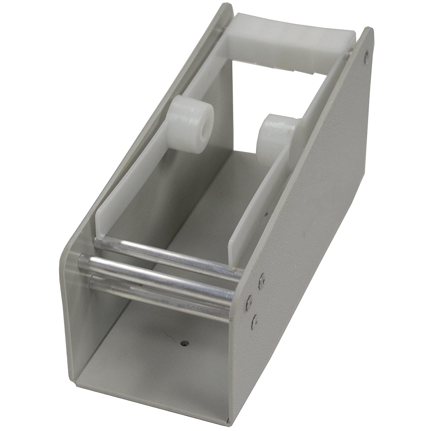 DayMark Plastic Label Max 73% OFF Dispenser Rack Holds Roll La of Free shipping New Wide 2