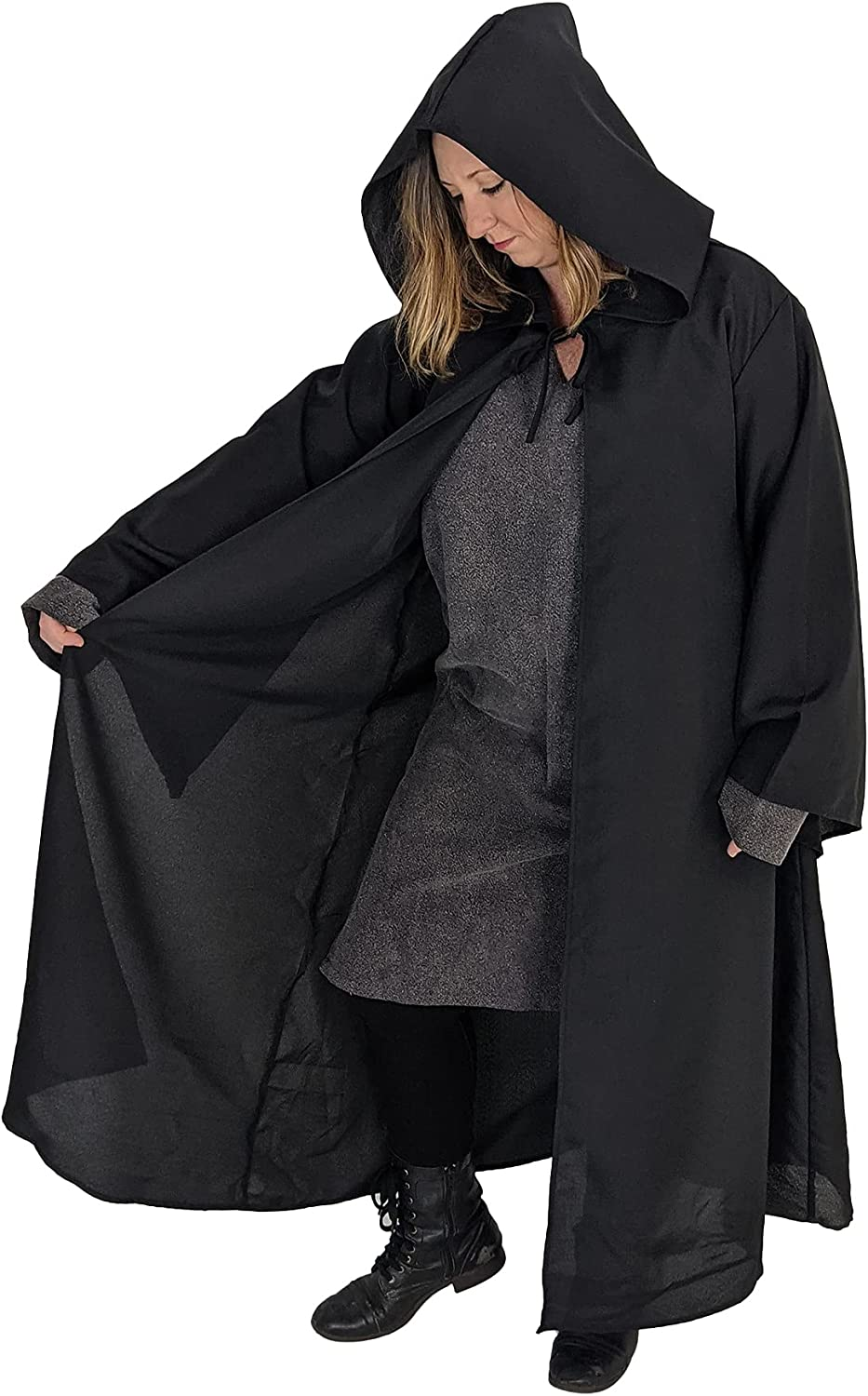 Ranking TOP19 Everfan Adult Hooded Robe with Sales for sale Med Sleeves Wizard Monk Jedi