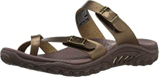 Skechers Womens 40981 Reggae - Wishlist - Double Buckle Toe Thong Slide