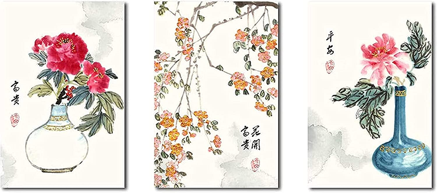 It is very popular canvas wall art Abstract ArtChinese National Large discharge sale Minimalist Fl Style