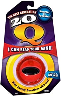 20 Questions Handheld Game- Red