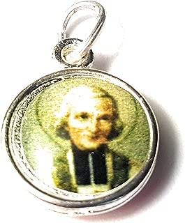 Relic Medals 3rd class of Jean Baptiste Marie Vianney patron of all priests, pastors, Kansas City Juan Bautista María Vianney patrono de Sacerdotes y Párrocos