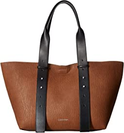 Jane Bubble Lamb East/West Tote