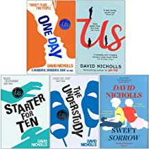 David Nicholls Collection 5 Books Set (One Day, Us, Starter For Ten, The Understudy, Sweet Sorrow)