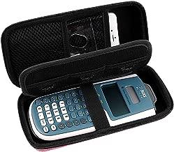 Travel Case for Texas Instruments TI-30XS / TI-36X Pro Engineering Multiview Scientific Calculator -Black