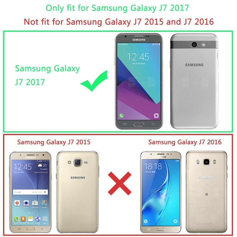 Funda para Galaxy J7 V, Samsung Galaxy J7 V [absorción de Choque ...