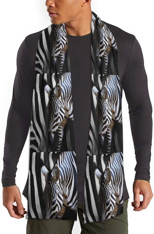 Womens Winter Scarf Zebra Animal Save Camo Wraps Warm Pashmina Shawls Gift Reversible Soft For Girls