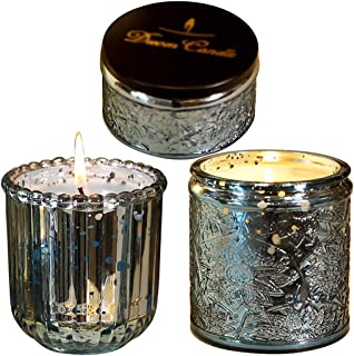 Bougie Bougies Parfumées À l'huile Essentielle, Bougies Parfumées en Verre De Ciel Étoilé Domestique, Bougies Romantiques ...