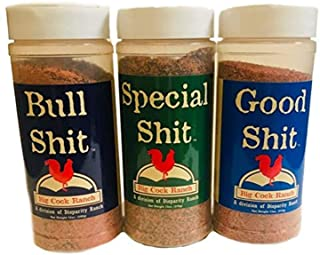 Big Cock Ranch All-Purpose Premium Seasoning Special Shit, Bull Shit, and Good Shit