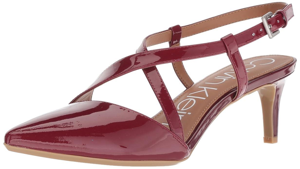 浮浪者させる醜い[Calvin Klein] レディース ポーラ(Paula) US サイズ: 8.5 B(M) US カラー: レッド