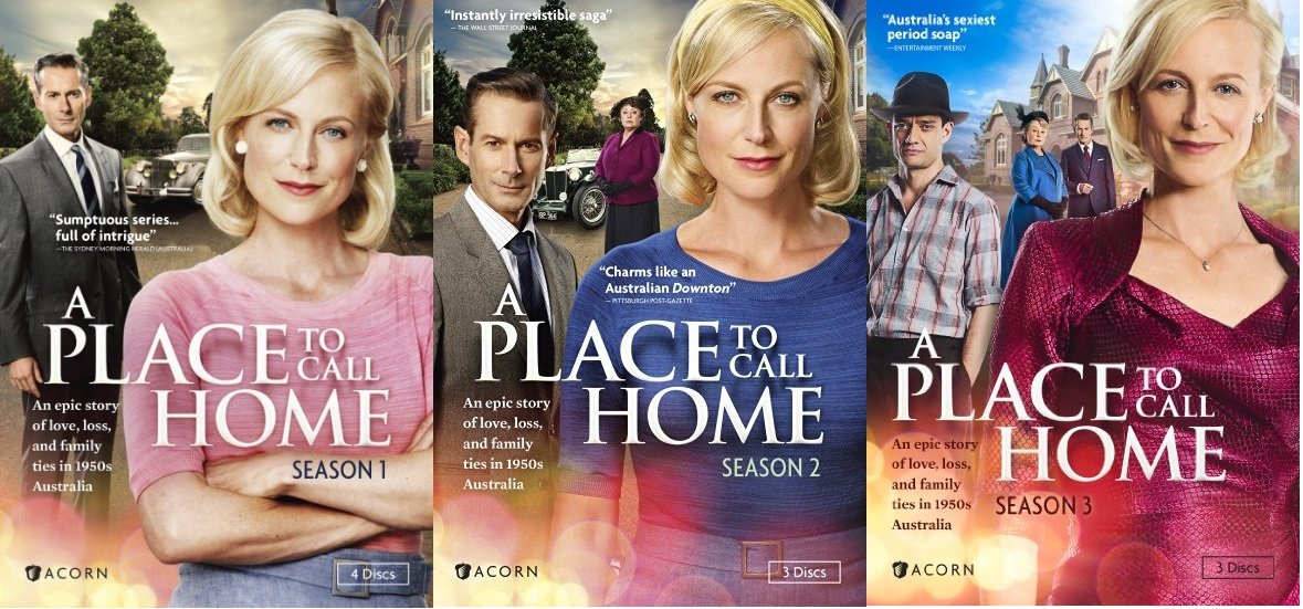 A Place to Call Home Seasons 1 - 3