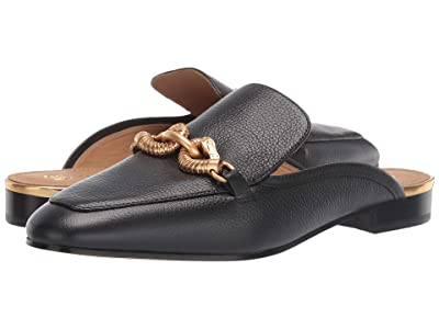 Tory Burch Jessa Backless Loafer (Perfect Black 1) Women