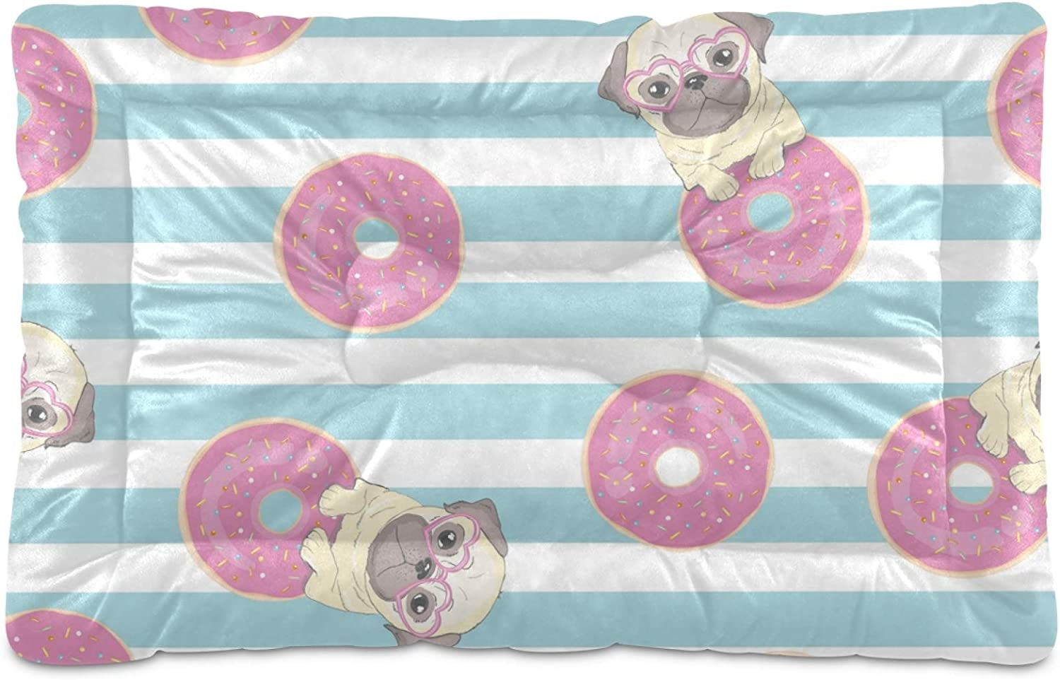 Dog Super sale period limited Bed Cute Donuts Crate Washable Larg Mattress Mat online shopping for