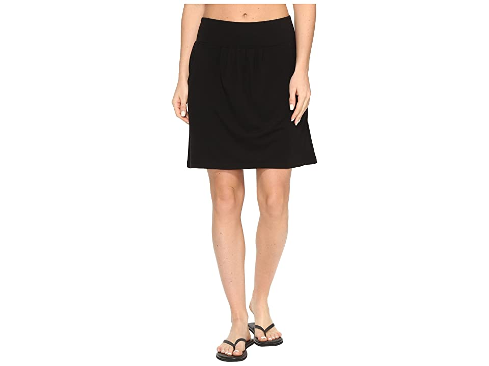 Royal Robbins Essential Tencel(r) Pocket Skirt (Jet Black) Women