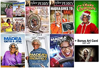 The Ultimate Tyler Perry's Madea Franchise 10 Play Series Collection + Bonus Glossy Art Print