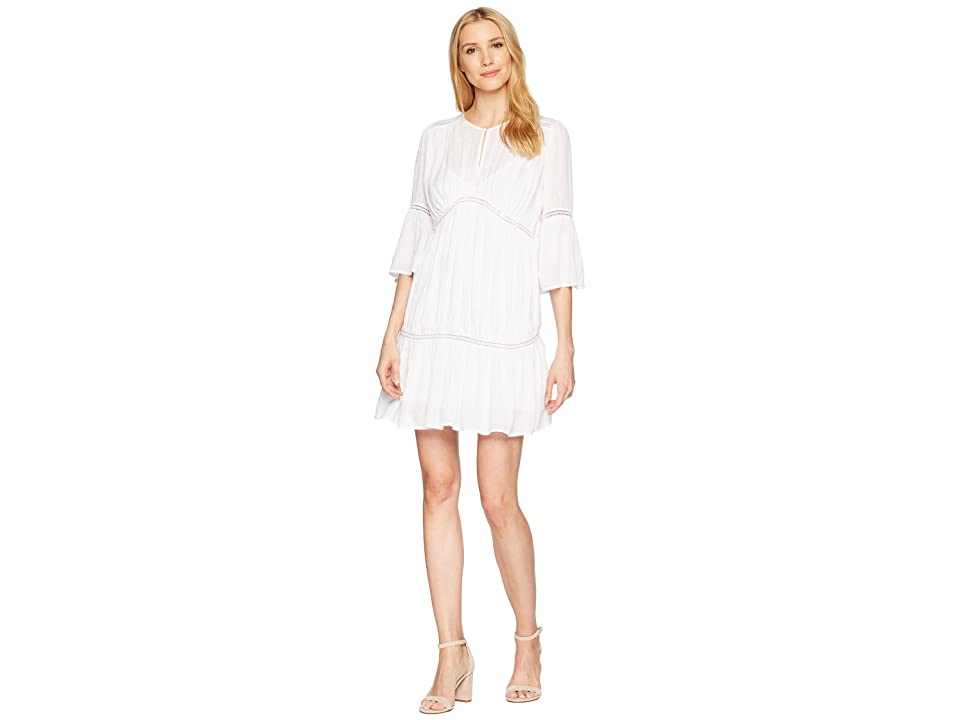 Lucky Brand Hazell Dress (Lucky White) Women