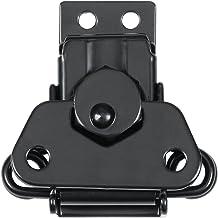 Betrouwbare Hardware Company RH-2392BK/2393BK-A middelgrote vlindervergrendeling, zwart en houder