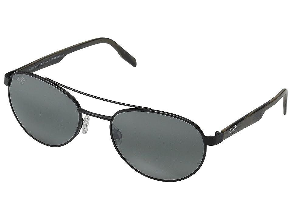 Maui Jim Upcountry (Matte Black/Neutral Grey) Polarized Fashion Sunglasses