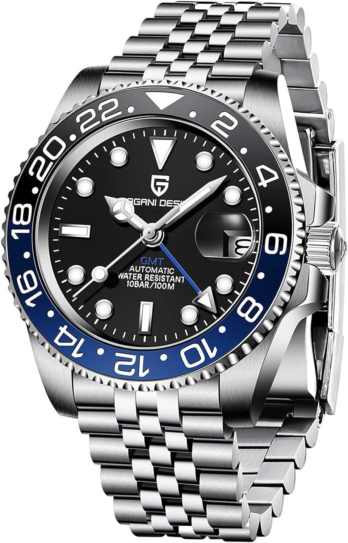 mart Pagani Design Men's GMT Automatic Super beauty product restock quality top Watch Waterpro Sapphire Luxury