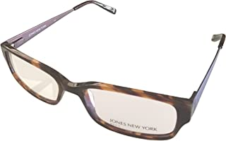 Jones New York Eyewear Mens Rectangle Tortoise Plastic Frame J510