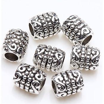 pcs Art Hobby Fabrication de Bijoux Artisanat Mixte Tibétain Fleur Spacer Perles 4 mm 30