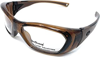 OnGuard OG 210S RxAble Safety Goggles Chestnut Brown 57mm-16mm-120mm