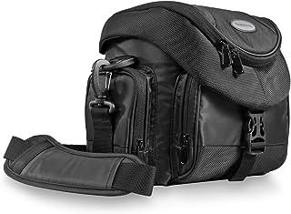 Mantona Premium - Bolso para cámaras réflex con Correa de Transporte Color Negro