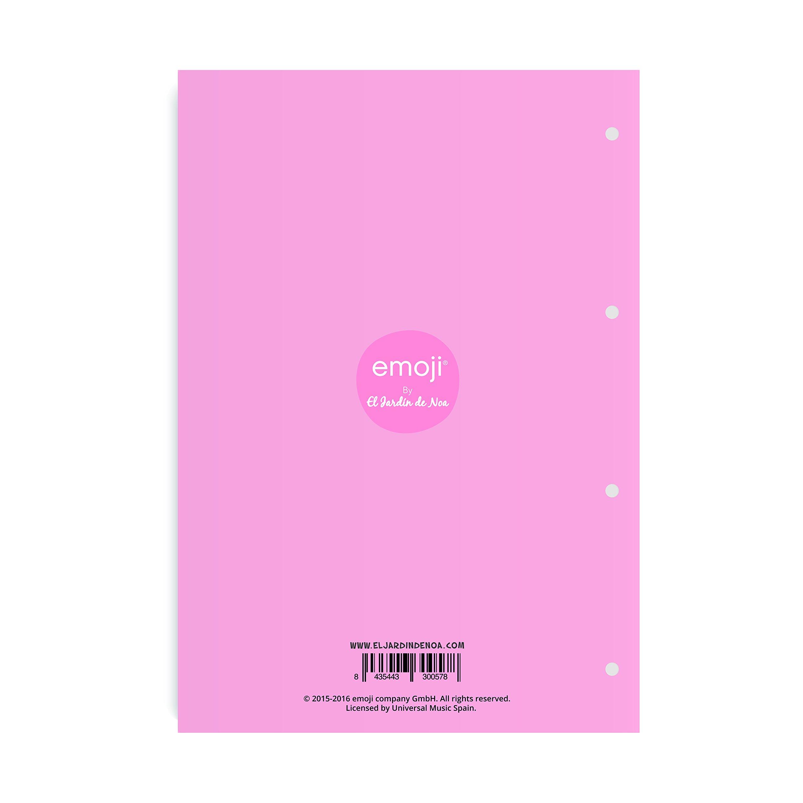 El Jardin de Noa EBN1002B - Cuaderno engomado: Emoji By Noa: Amazon.es: Oficina y papelería