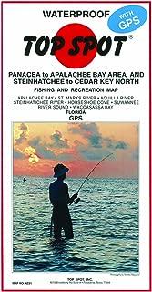 Top Spot Map Panacea Apalachee Steinhatchee to Cedar Key North