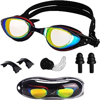 Gafas de Natación para Adultos Gafas para Nadar-Protección UV Anti-Vaho y Anti-Fugas, Unisex Gafas para Nadar que Protegen Perfectamente sus ojos