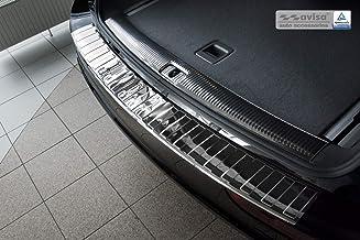 QQY Ladekantenschutz Sto/ßstangenschutz Edelstahl f/ür Audi Q5 2009-2016 Auto Heck T/üRschwelle Kofferraum Schutzbrett Dekoration Styling Zubeh/ör