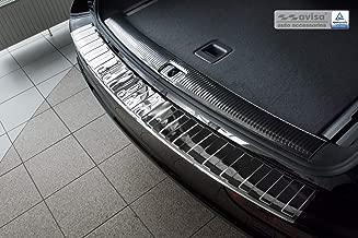 CStern Edelstahl Ladekantenschutz mit Abkantung f/ür Audi Q5 L 8RB FYB 2018 2019 Anti-Kratz Hecksto/ßstangenschutz Schutzleiste