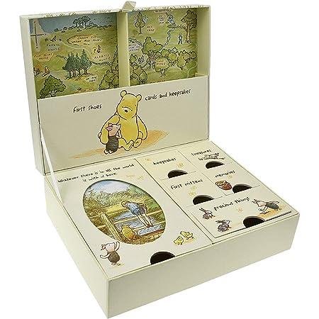 Personalised Classic Disney Pooh Bear Vintage wooden keepsake heart Baby Gift
