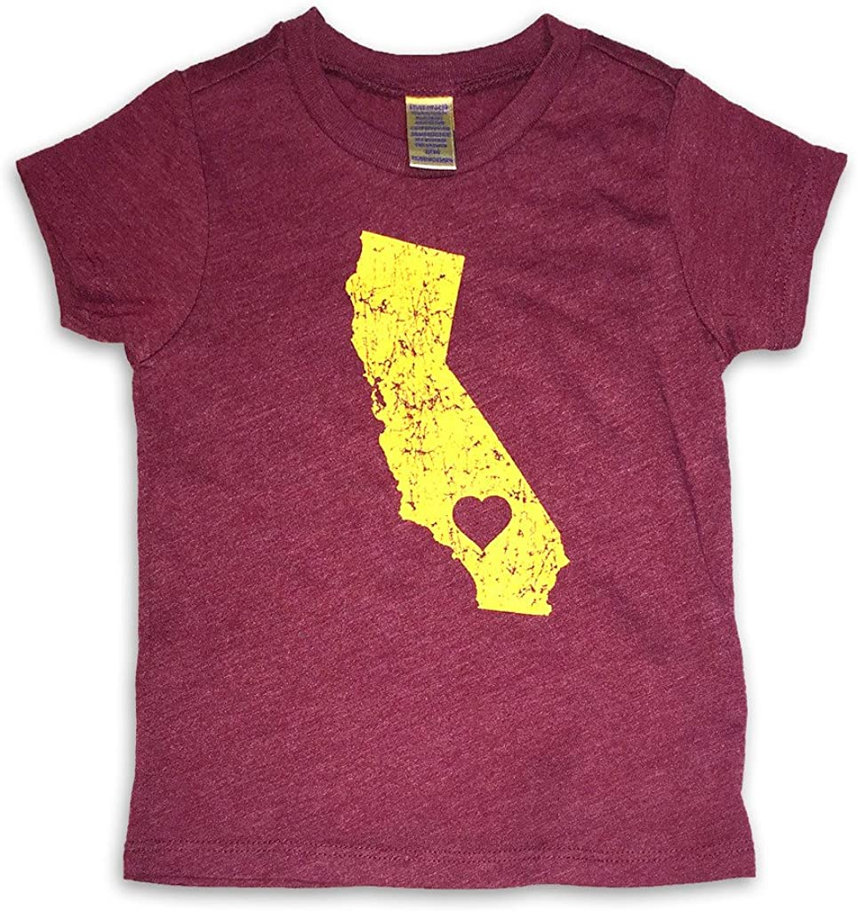Sol Baby Souther California Love Trojan Themed Cardinal Infant/Toddler Tee