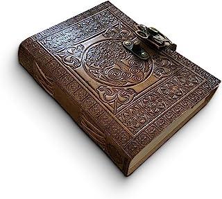 comprar comparacion DreamKeeper Diario de Cuero Hecho a Mano - Cuaderno de Viaje Céltico - Diseño Antiguo Original del �rbol de la Vida - Pape...