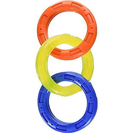 Nerf Dog Multi-Ring TPR Tuff Tug Dog Toys