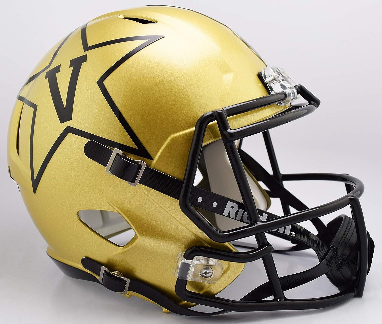Vanderbilt Commodores Speed Replica Football Helmet B gold NEW 2018 B