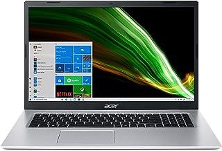 Acer Aspire 3 A317-53-34A6 Ordinateur Portable 17.3'' HD+, PC Portable (Intel Core i3-1115G4, RAM 8 Go, SSD 512 Go, Intel ...