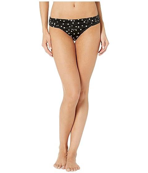 Stella McCartney Polka Dot Print Draped Classic Bikini Bottom