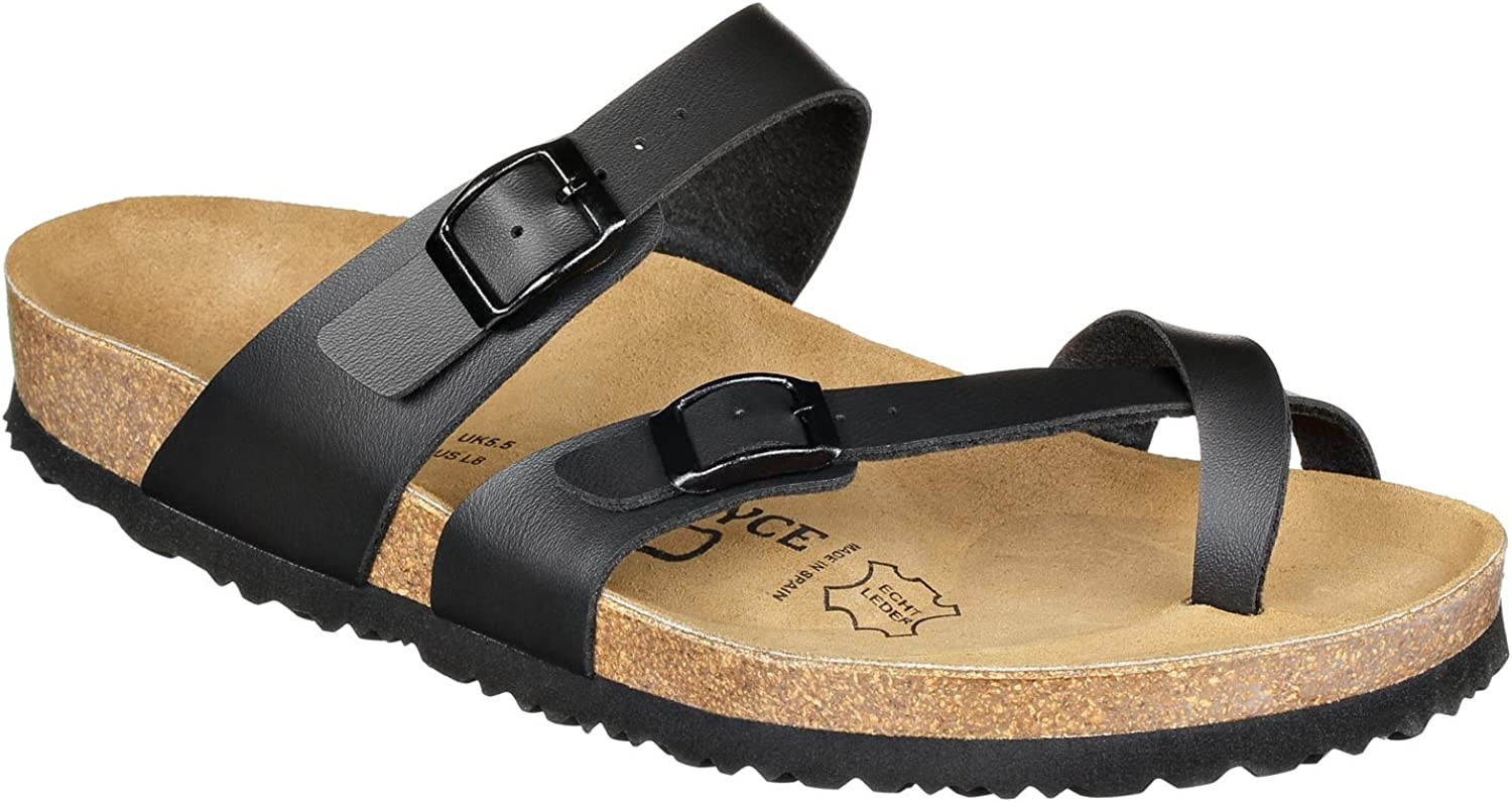 JOE N JOYCE Milano Basic Max 47% All stores are sold OFF SynSoft Comfort Cork-Sandal Women