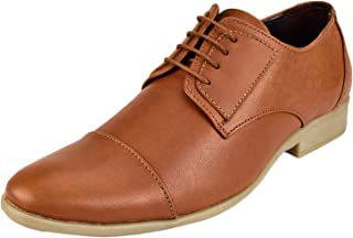 CHAMOIS Men's Genuine Leather Derby Shoes