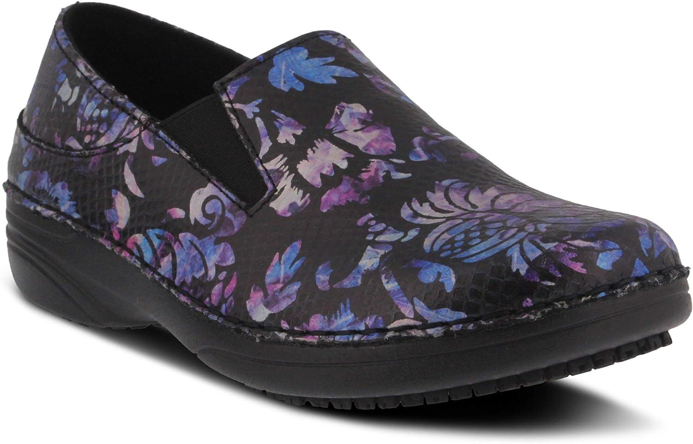 Spring Step Professional Women's Manila-Fantasy Leather Clog