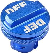 Shoppingsoon Aluminum Billet Exhaust Fluid Cap for Dodge Ram Cummins (2013-2017) with Blue DEF Auto Parts