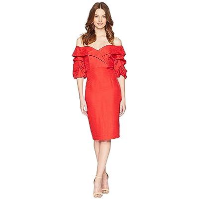 Bardot Devlin Twist Dress (Lipstick) Women