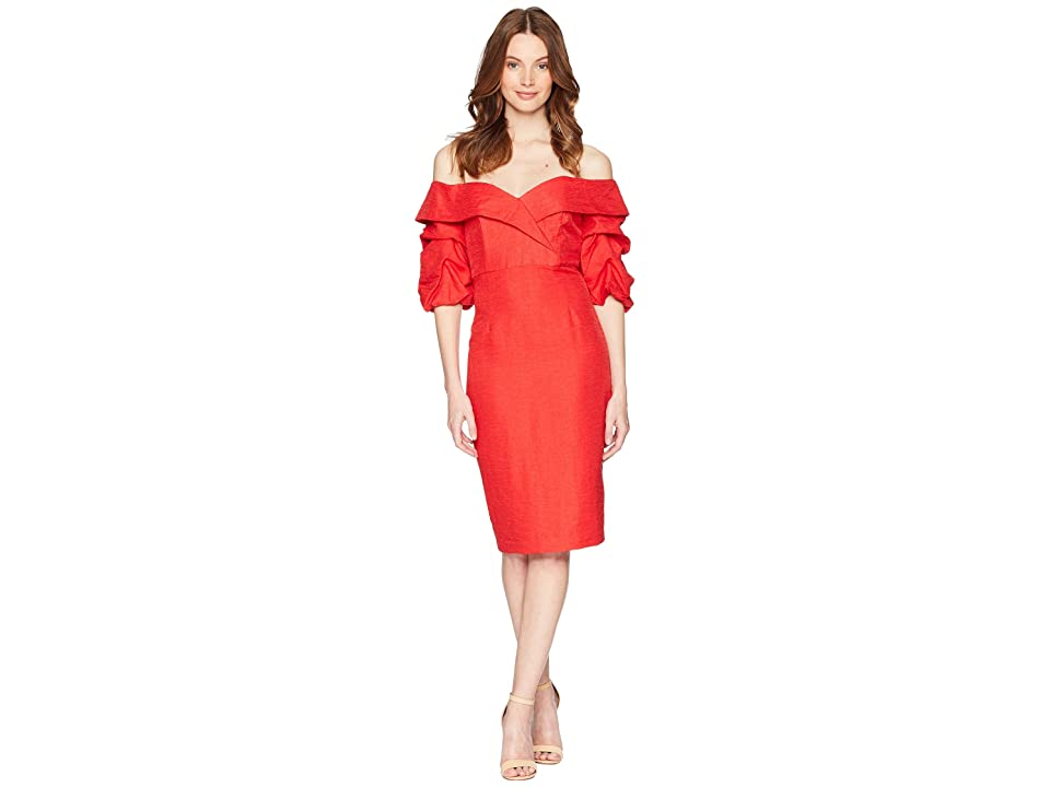 Bardot Devlin Twist Dress (Lipstick) Women