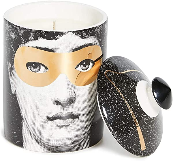 Fornasetti Women S Fornasetti Scented Candle Gold Multi One Size