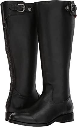 Jayden Buckle Back Zip Wide Calf