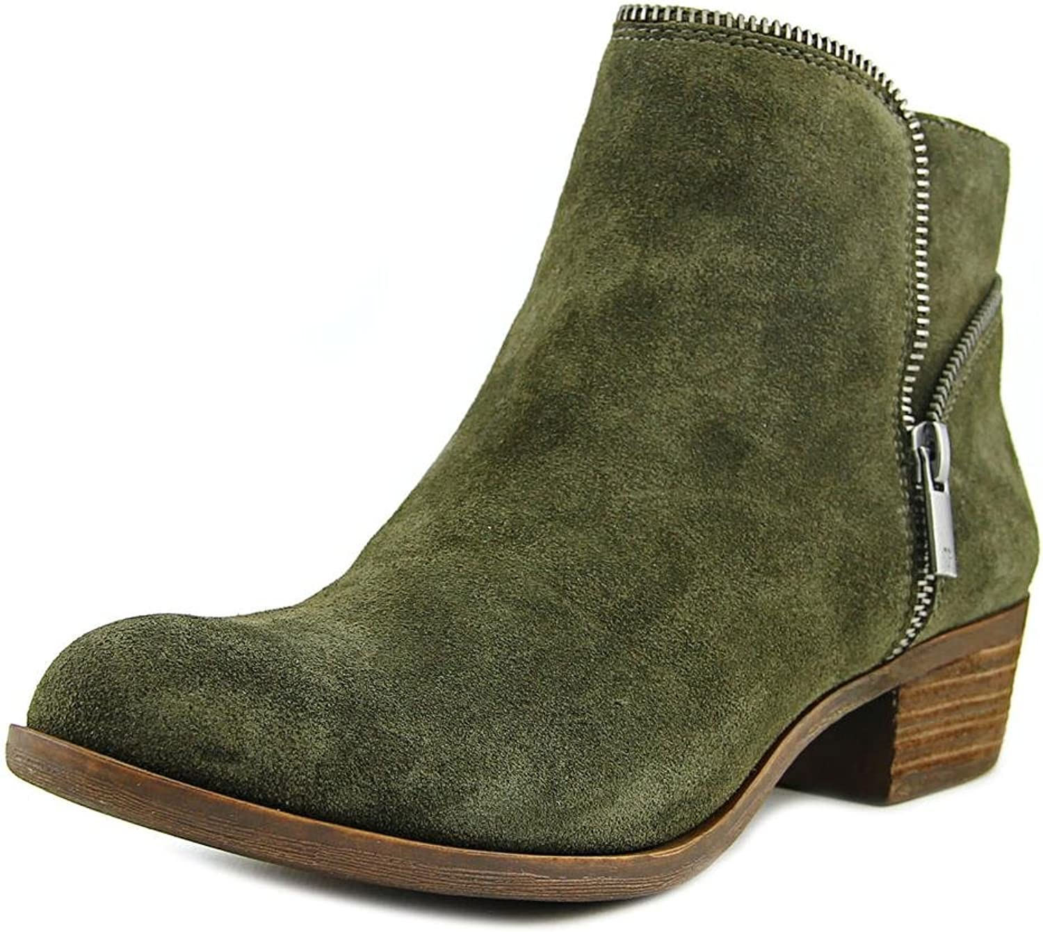Lucky Brand Boide Women US 6 Green Ankle Boot