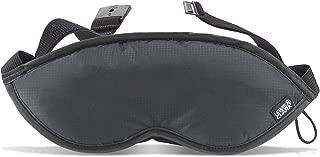Lewis N. Clark Men's Travel Comfort Eye Mask with Adjustable Straps, Black